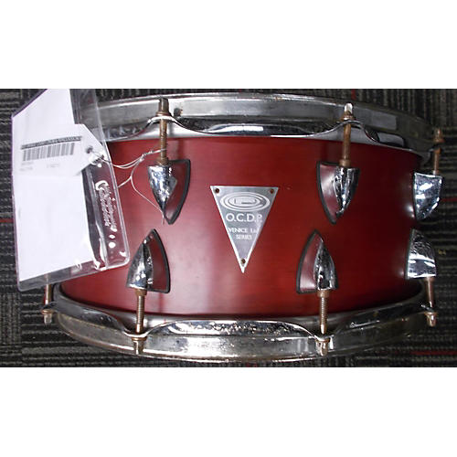 Orange County Drum & Percussion 5X14 Venice Series Snare Drum Red 8