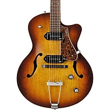 Godin 5th Avenue CW Kingpin II Archtop Electric Guitar Level 1 Cognac Burst