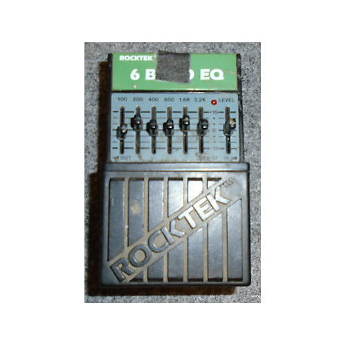 In Store Used 6 Band Eq Pedal-thumbnail