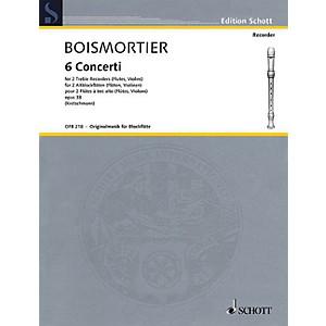 Schott 6 Concerti, Op. 38 Woodwind Ensemble Series Softcover by Johann Bod... by Schott