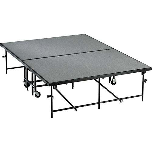 Midwest Folding Products 6' Deep X 8' Wide  Mobile Stage-thumbnail