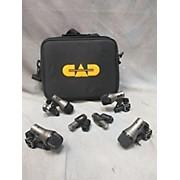 CAD 6 Drum Mic Pack W Bag Drum Microphone