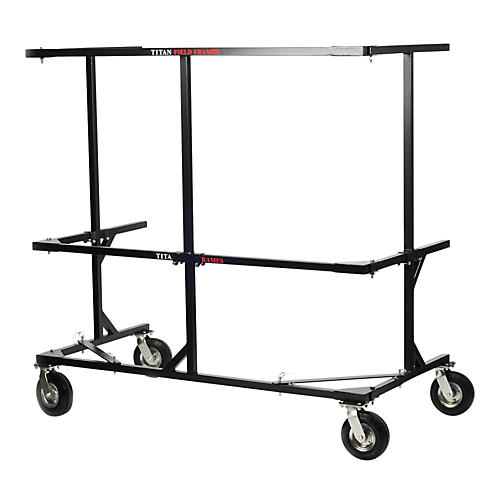 Titan Field Frames 6 Foot Clamp-On Percussion Rack Rail