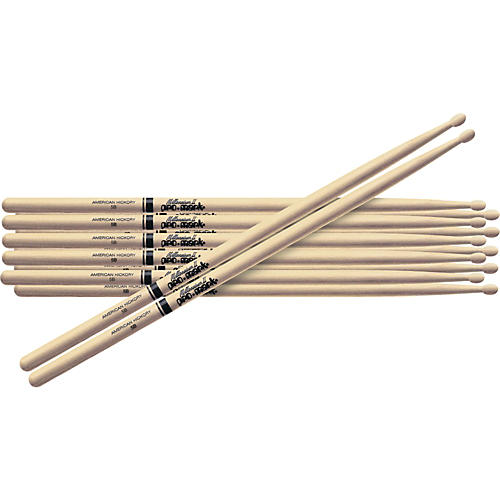 PROMARK 6-Pair American Hickory Drumsticks-thumbnail