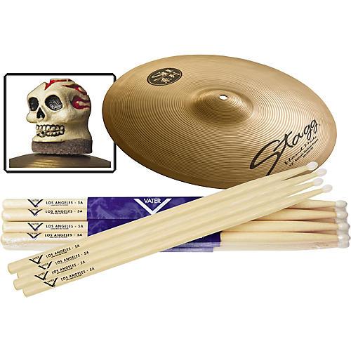 Vater 6-Pair Hickory Drumstick Splash Slick Nut Pack, Nylon Tip 5A
