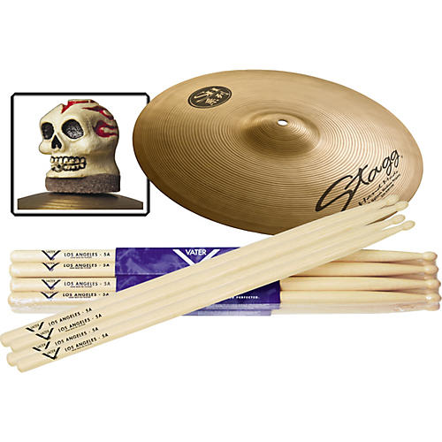 Vater 6-Pair Hickory Drumstick Splash Slick Nut Pack, Wood Tip 5A-thumbnail