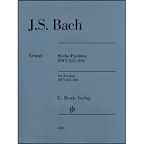 G. Henle Verlag 6 Partitas BWV 825-830 By Bach-thumbnail