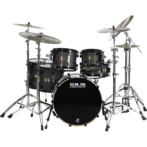 Pork Pie 6-Piece Rock Black Glass Maple Shell Pack