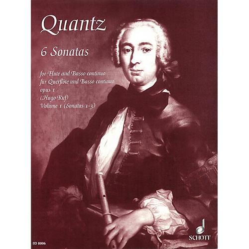 Schott 6 Sonatas Volume 1, No. 1-3, Op. 1 Schott Series