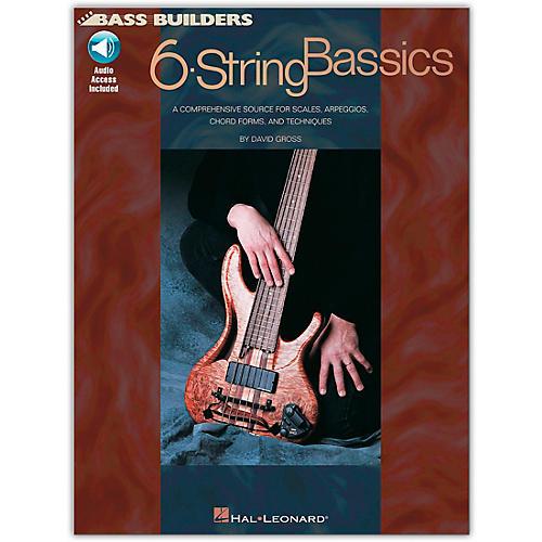 Hal Leonard 6-String Bassics (Book/Online Audio)-thumbnail