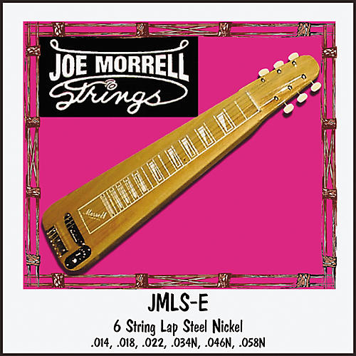 Morrell Music 6-String E Tuning Lap Steel String Set