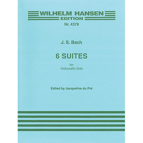 Music Sales 6 Suites for Solo Violoncello Music Sales America Series