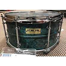 Pork Pie 6.5X13 Brass Patina Drum