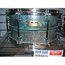 Pork Pie USA 6.5X13 Patina Brass Drum