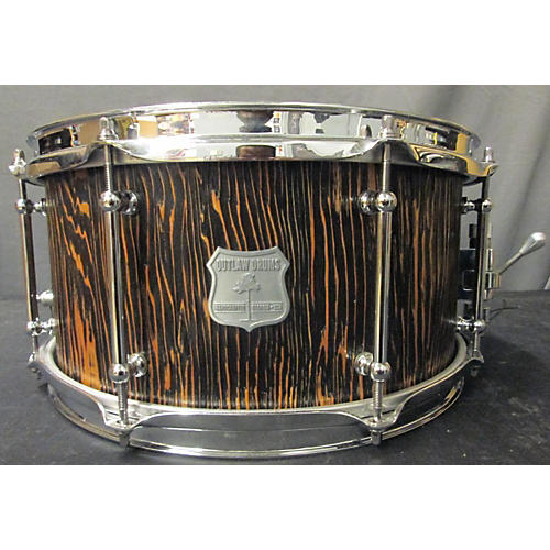 OUTLAW DRUMS 6.5X13 Weathered Drum