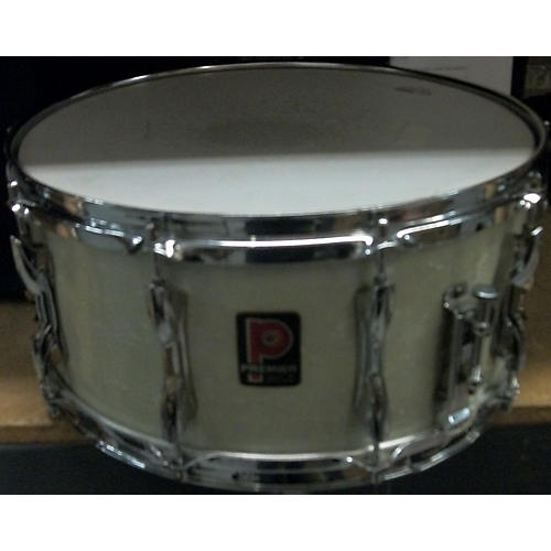 Premier 6.5X14 1960's Royal Ace Snare Drum White Marine Pearl Drum