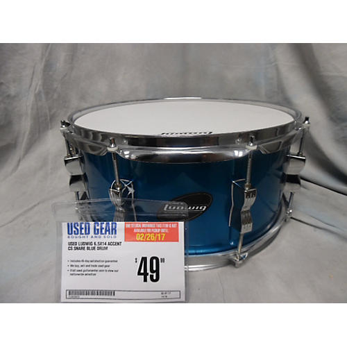 Ludwig 6.5X14 Accent CS Snare Drum-thumbnail