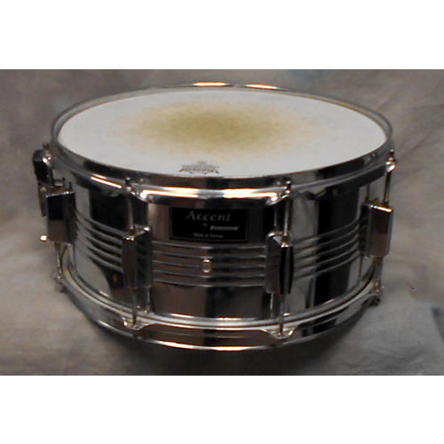 Ludwig 6.5X14 Accent Steel Snare Drum-thumbnail