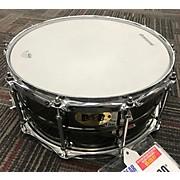 Pork Pie 6.5X14 BIG BLACK BRASS SNARE Drum