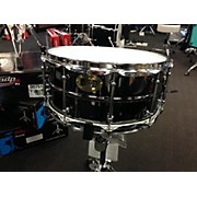 Pork Pie 6.5X14 Big Black Brass Drum