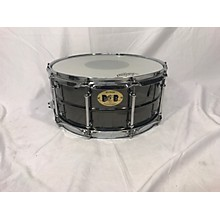 Pork Pie USA 6.5X14 Big Black Brass Drum