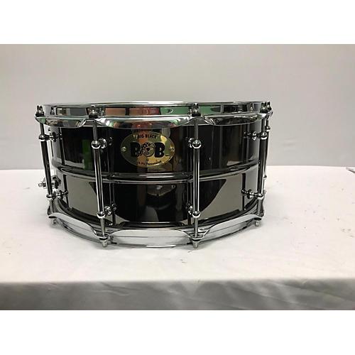 Pork Pie 6.5X14 Big Black Brass Drum-thumbnail