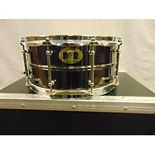 Pork Pie USA 6.5X14 Big Black Brass Snare Drum