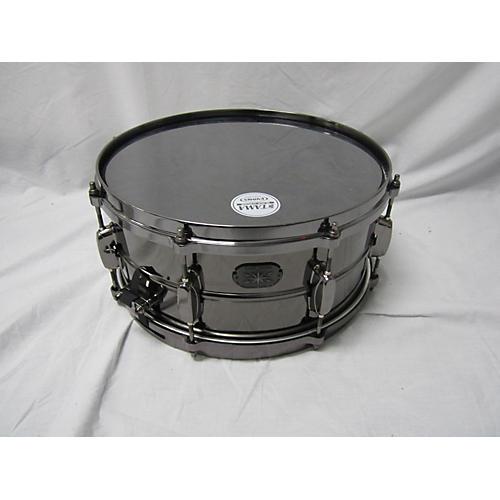 Tama 6.5X14 Black Chrome Snare Drum-thumbnail