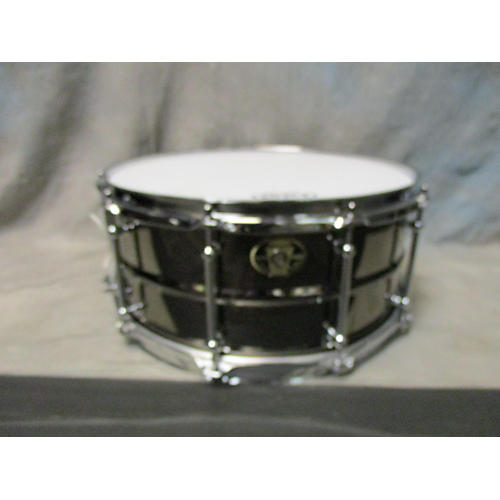 Ludwig 6.5X14 Black Magic Snare Drum-thumbnail