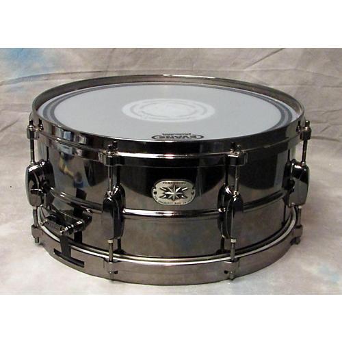 Tama 6.5X14 Black Nickel-Plated Snare Drum
