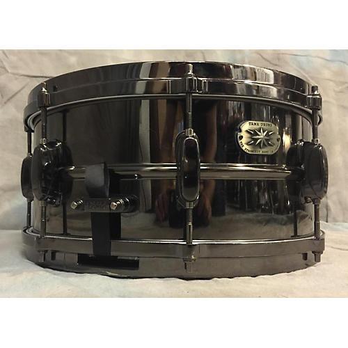 Tama 6.5X14 Black Nickel Snare Drum-thumbnail