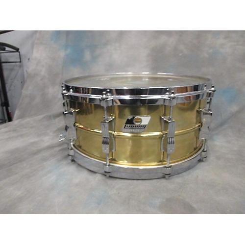 Ludwig 6.5X14 Brass Snare Drum Drum