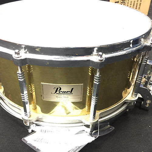 Pearl 6.5X14 Brass Snare Drum