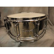 6.5X14 Classic Stainless Steel Snare Drum