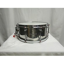 Dunnett 6.5X14 Classic Stainless Steel Snare Drum