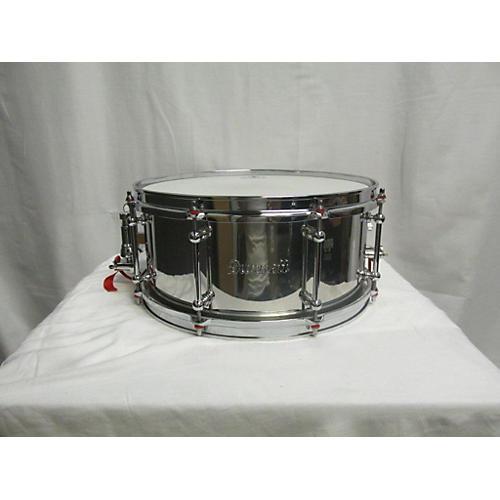 Dunnett 6.5X14 Classic Stainless Steel Snare Drum-thumbnail