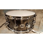 DW 6.5X14 Collector's Series Black Nickel Over Snare Drum