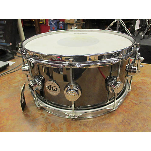 DW 6.5X14 Collector's Series Brass Snare Drum-thumbnail