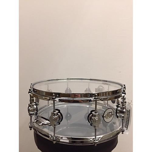 DW 6.5X14 Design Series Acrylic Snare Drum