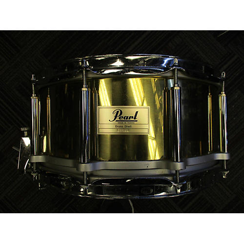 Pearl 6.5X14 Free Floating Brass Snare Drum-thumbnail