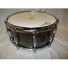 Gretsch Drums 6.5X14 Hammered Black Steel Drum