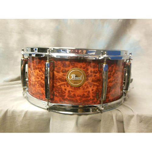 Pearl 6.5X14 Limited Artisan II Snare Drum Autumn fire 15