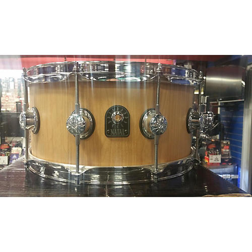 Natal Drums 6.5X14 Maple Stave Snare Drum