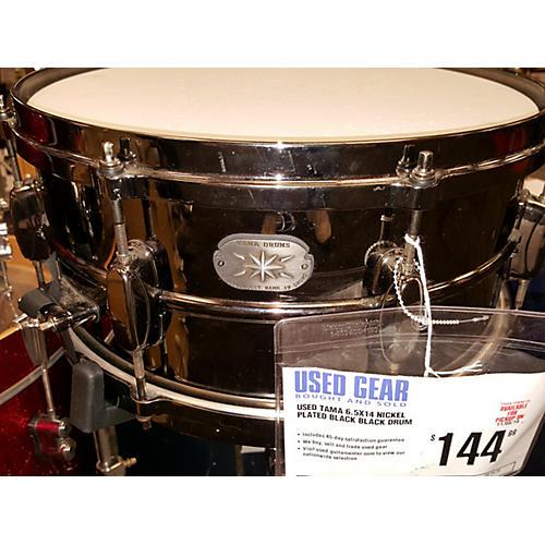 Tama 6.5X14 NICKEL PLATED BLACK Drum