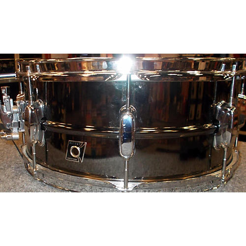 Tama 6.5X14 NICKLE PLATED SNARE DRUM Drum-thumbnail