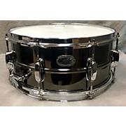 Tama 6.5X14 Nickel Plated Black Steel Snare Drum