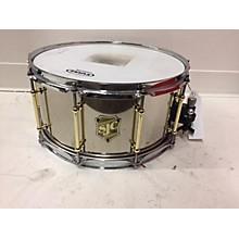 SJC Drums 6.5X14 Nickel Plated Steel Drum
