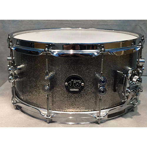 DW 6.5X14 Performance Series Snare Silver Drum-thumbnail