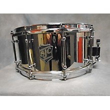 SJC Drums 6.5X14 STEEL SNARE Drum