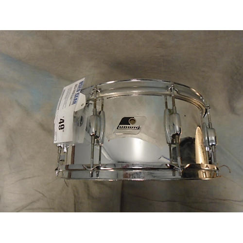 Ludwig 6.5X14 STEEL SNARE Drum-thumbnail